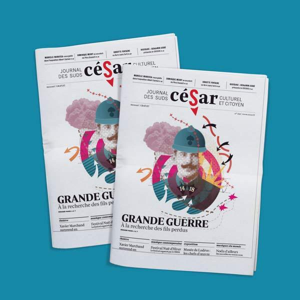 visuel Journal César n°322