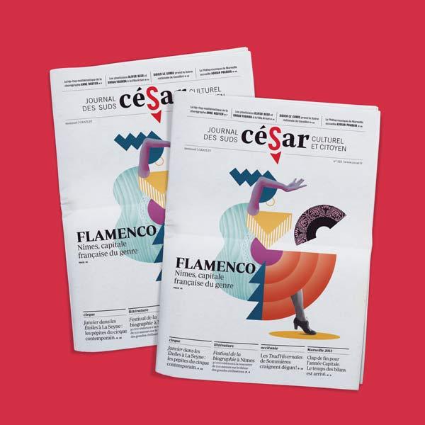 visuel Journal César n°323